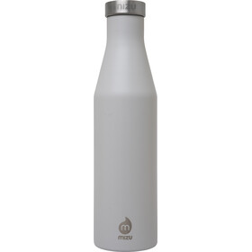 MIZU S6 Insulated Bottle with Stainless Steel Cap 600ml Enduro Light Grey